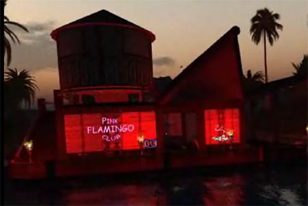 Tolle Atmosphäre an der Pink Flamingo Bar