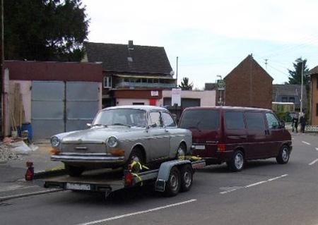 Ein VW auf dem Weg in denNorden!