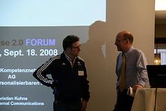 Christian Kuhna, Prof. Dr. Joachim Niemeier (v. l.)