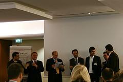 Jamil Ouaj, Arne Schümann, Prof. Dr. Niemeier, Prof. Dr. Michael Koch, Oliver Nitz, Christian Kuhna, Alexander Warta (v. l.)