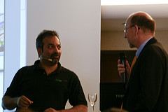 JP Rangaswami, Prof. Dr. Joachim Niemeier (v. l.)