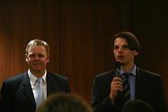 Thomas Koch und Björn Negelmann (v. l.)