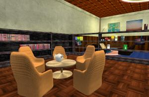 """Die Bibliothek der """"Brennenden Buchstaben"""""""
