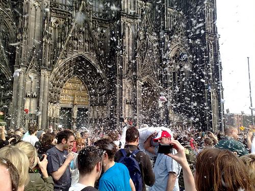 Es schneit!!!