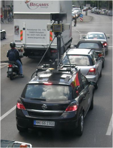 So sieht ein GoogleStreetViewCar übrigens aus...