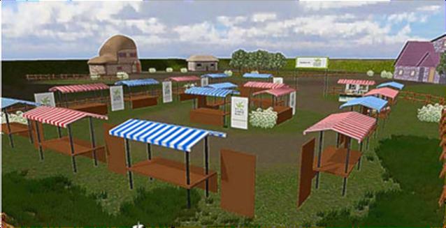 Second Life Farmers' Market