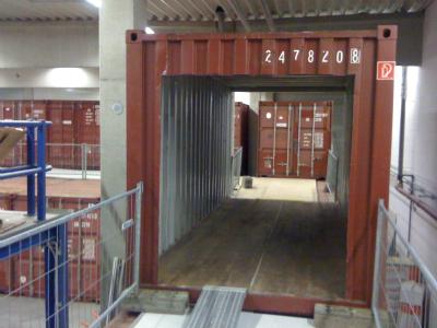 Seecontainer als Lagerraum