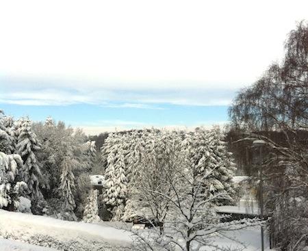 Der Blick aus meinem Büro in Remscheid-Lennep