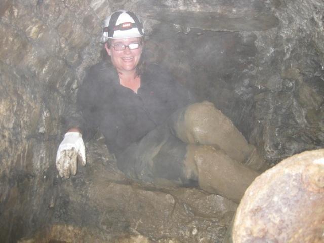 Höhlennixe im Klusensprung