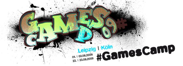 Ich liebe immer noch unser Gamescamp Logo